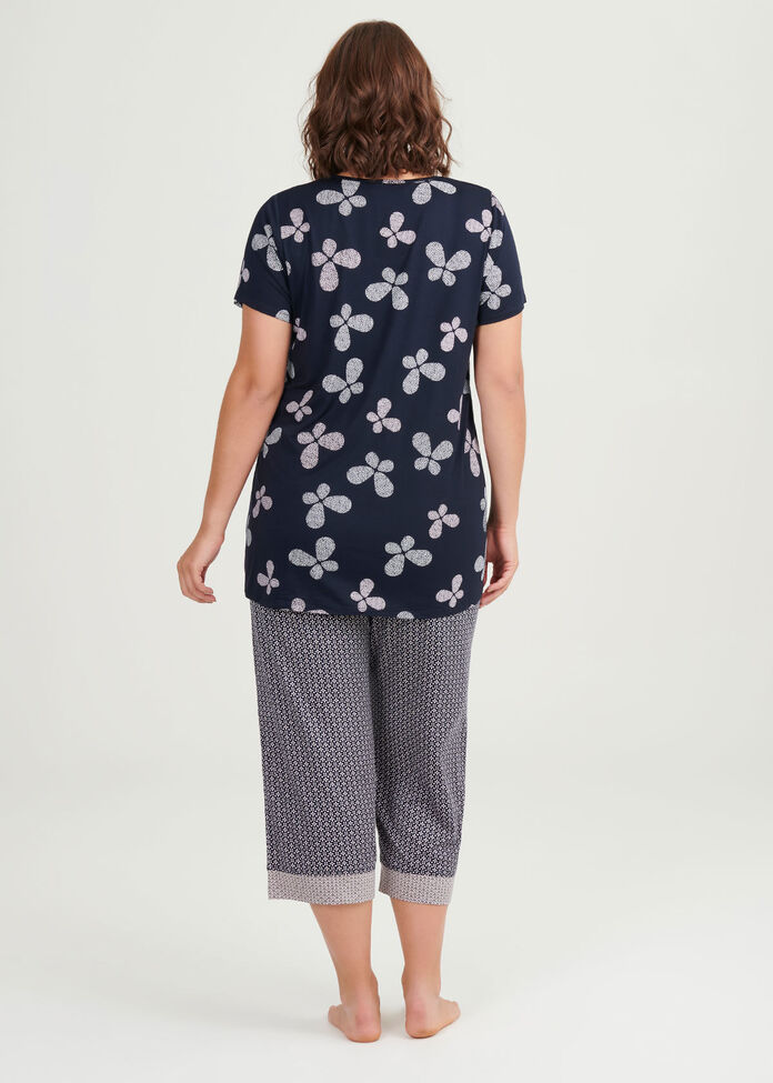 Bamboo Butterfly Pj Top, , hi-res