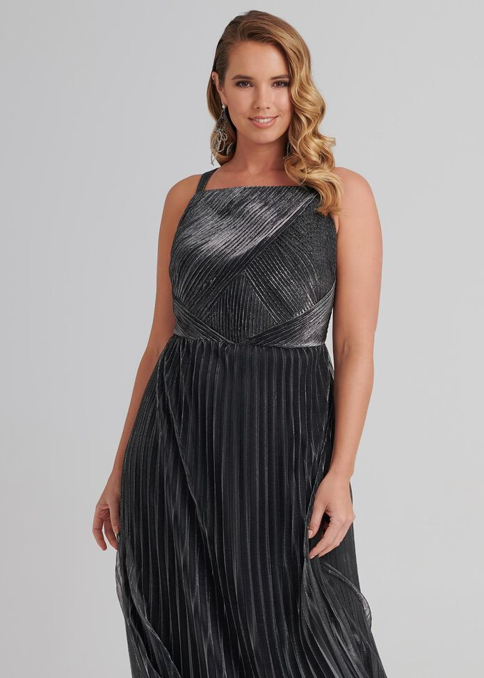 Staying Alive Maxi Dress, , hi-res
