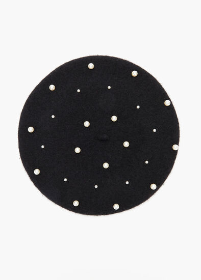 Heads Up Pearl Beret