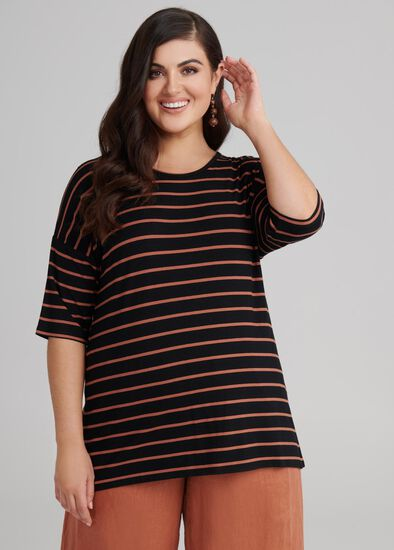 Stripe Bamboo Top