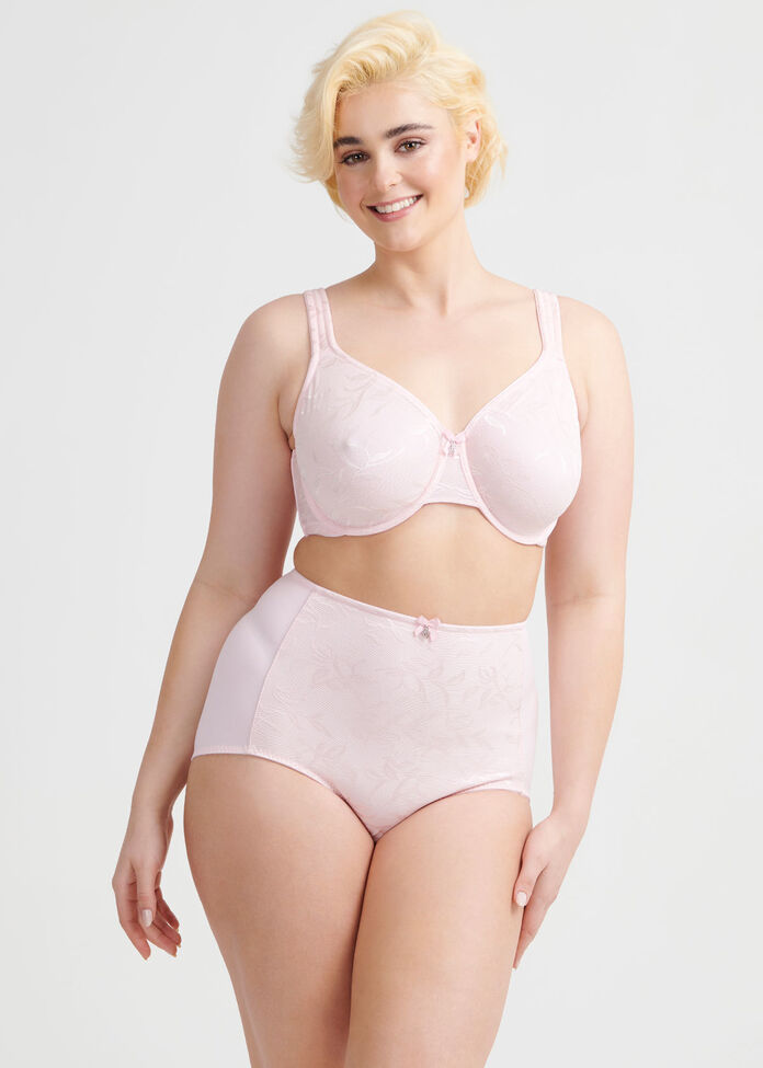 Smooth Lace Underwire Bra Sizes 20-24, , hi-res
