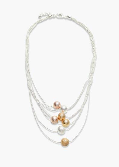 Multi Orb Necklace