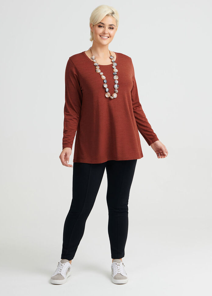 Wool Bamboo Top, , hi-res