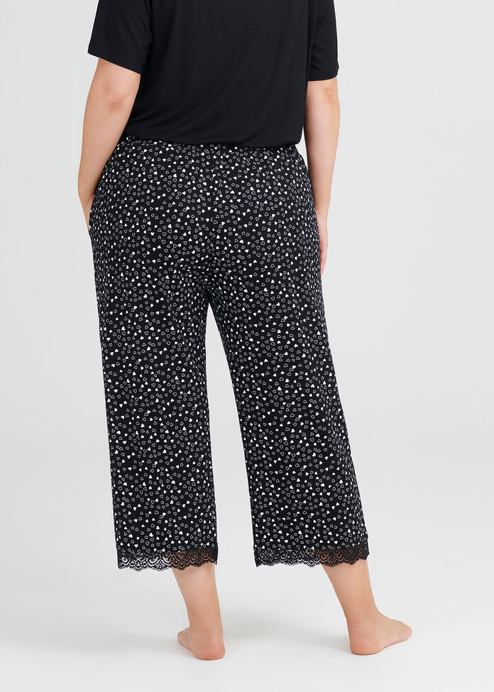 Bamboo Mini Hearts Pj Pant, , hi-res