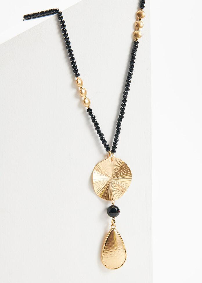 Mixed Metal Necklace, , hi-res
