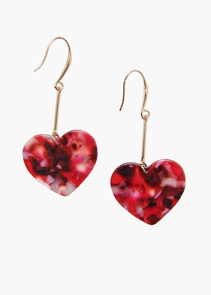 Pop Heart Earrings, , hi-res