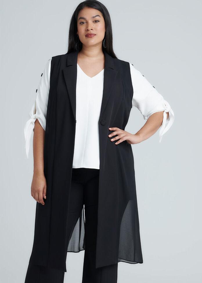 Boss Lady Vest, , hi-res