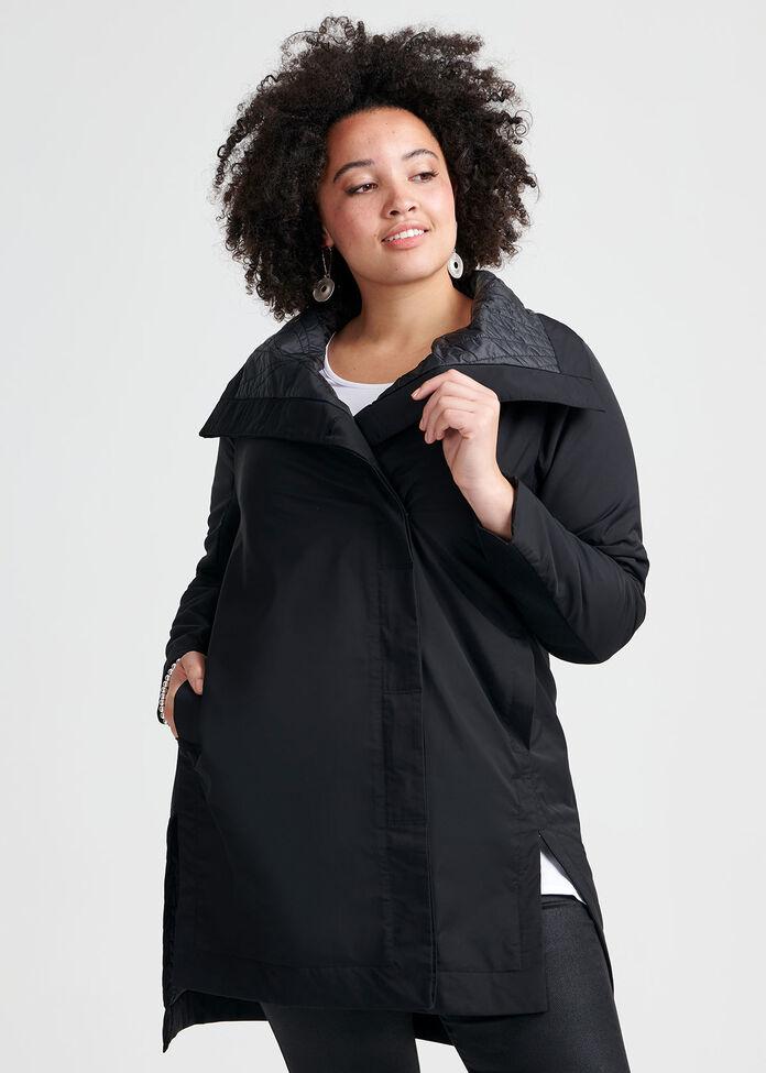 Total Obsessed Puffer Coat, , hi-res