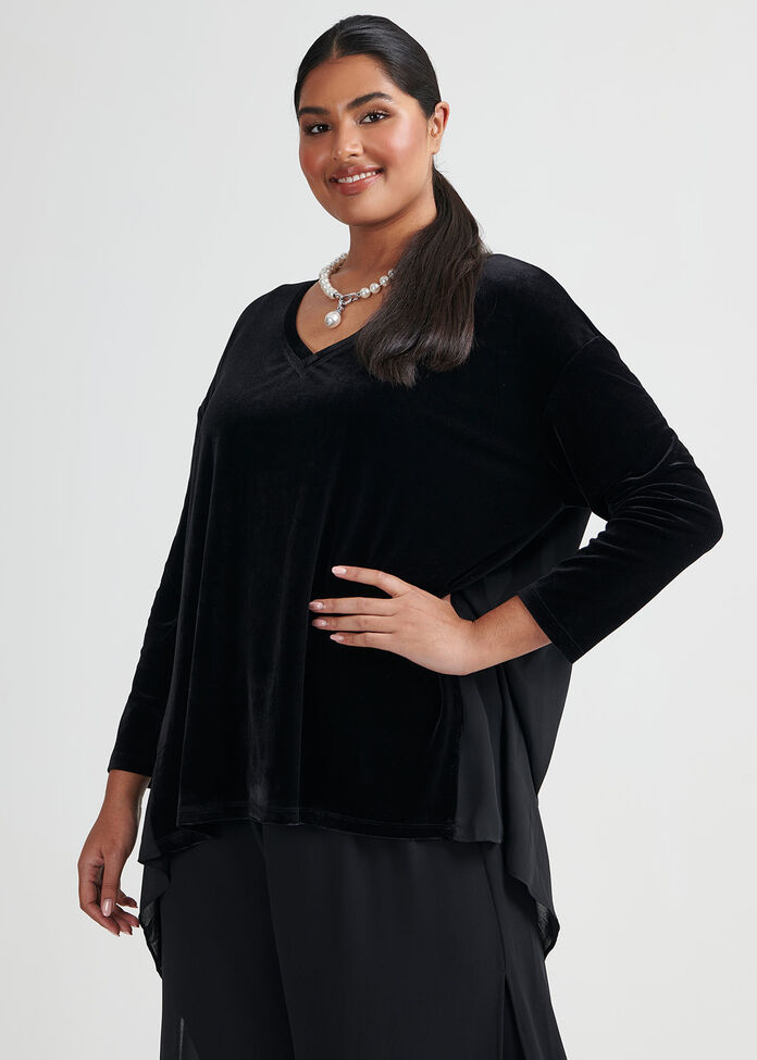 Layla High Low Knit Top, , hi-res