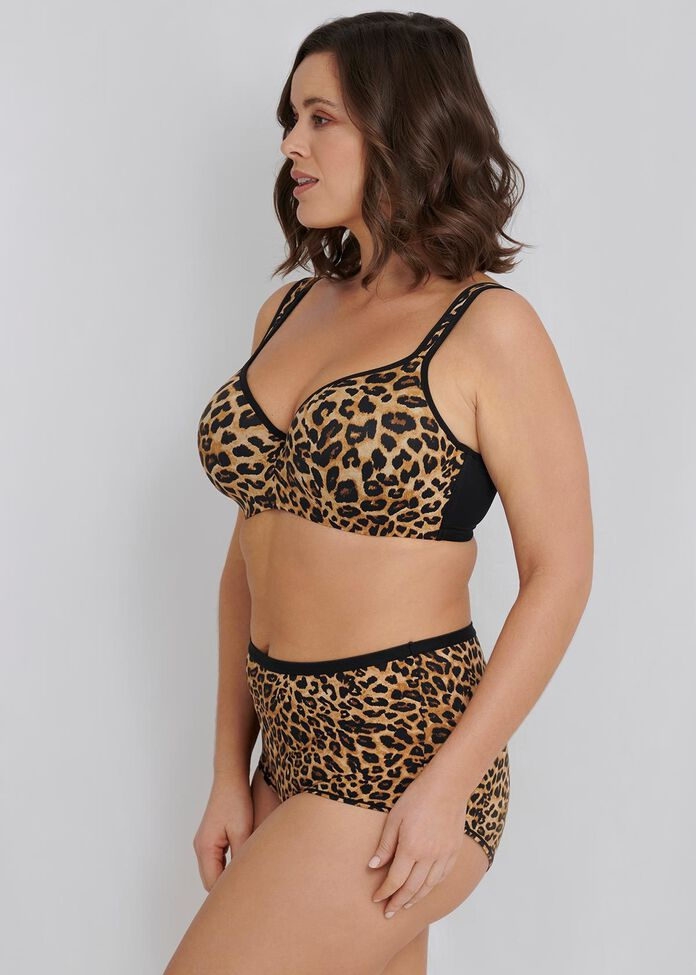 Soft Contour Bra - Print Sizes 20-24, , hi-res