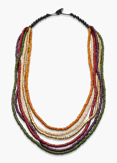 Layered Coco Necklace