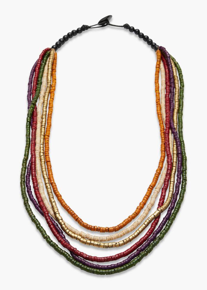 Layered Coco Necklace, , hi-res