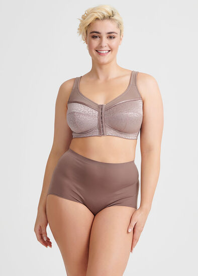 Wirefree Front Opening Bra Sizes 20-24