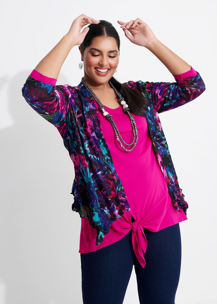 Blue Crush Cardi, , hi-res