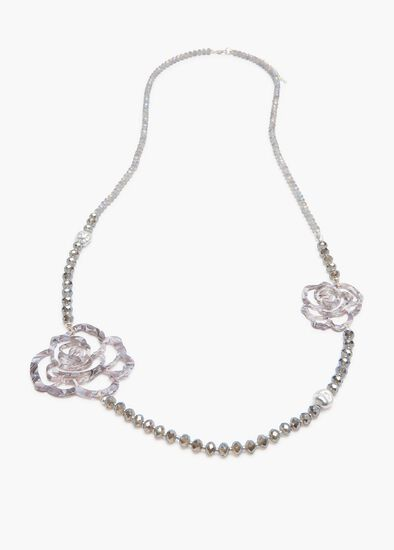 Snow Rose Necklace