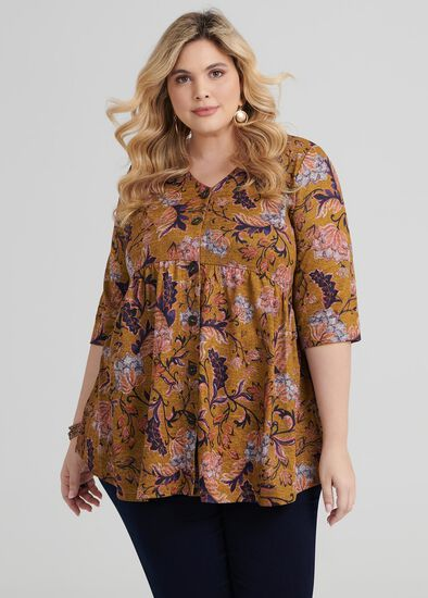 Ethnic Floral Top