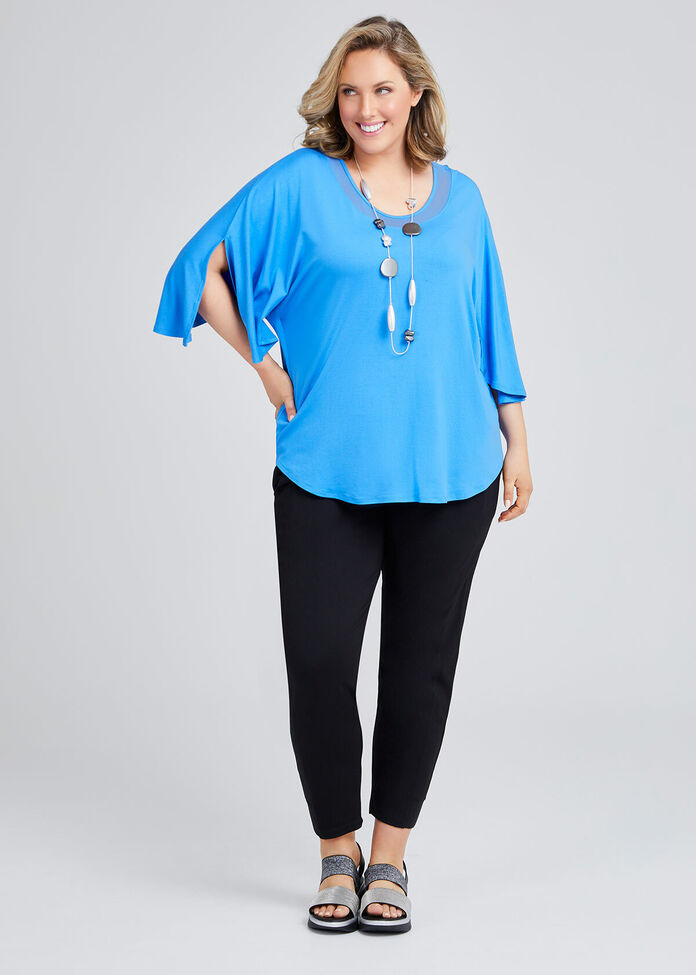 Bamboo Mesh Out & About Top, , hi-res