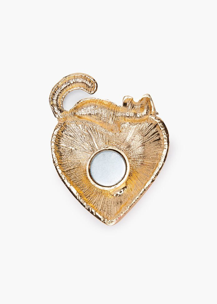 Love Cats Brooch, , hi-res
