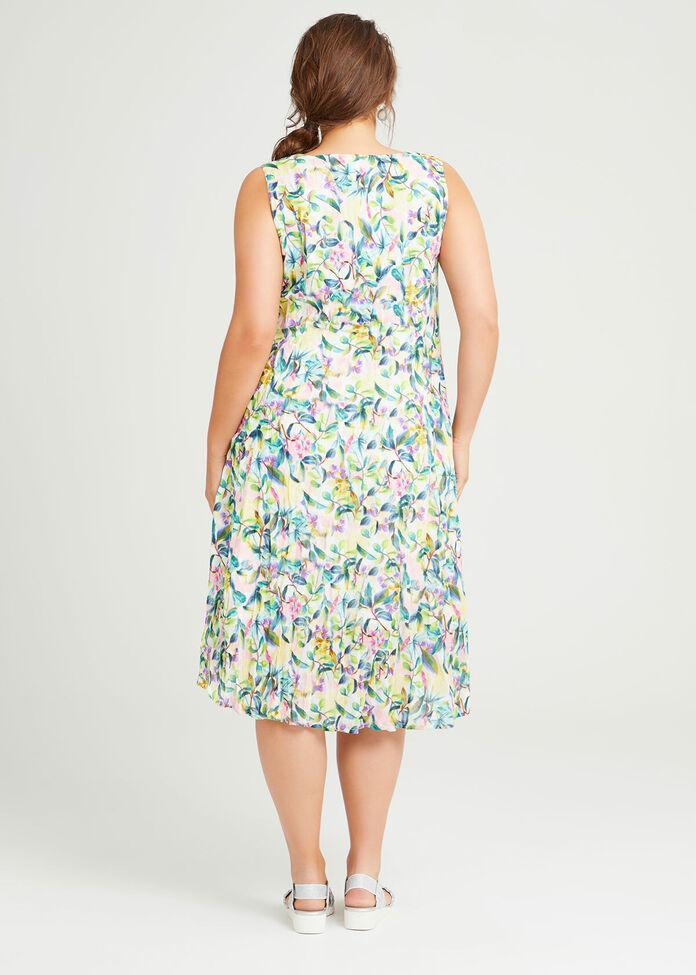 Cotton Paloma Sleeveless Dress, , hi-res