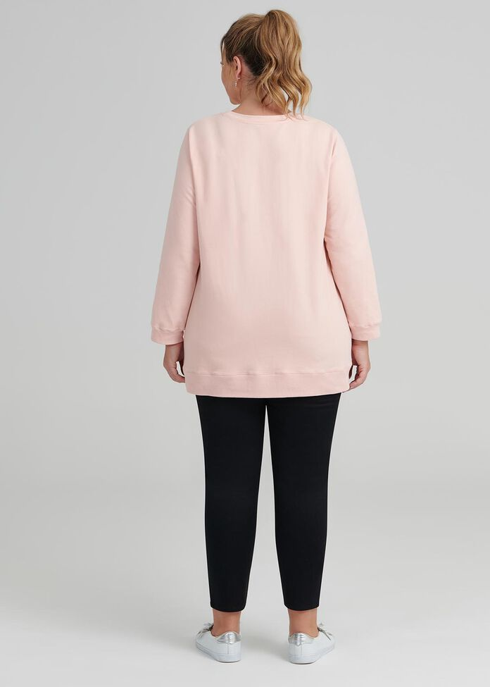 Organic Rose All Day Top, , hi-res