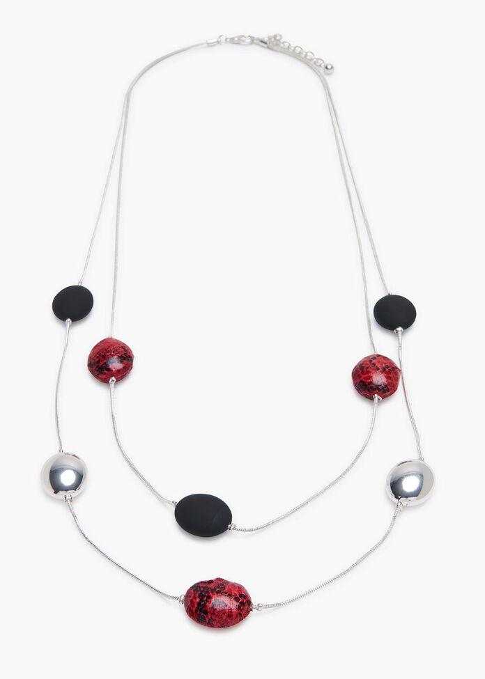 Medusa Layered Necklace, , hi-res