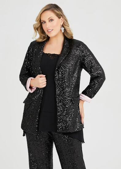 Sparkle Sequin Jacket
