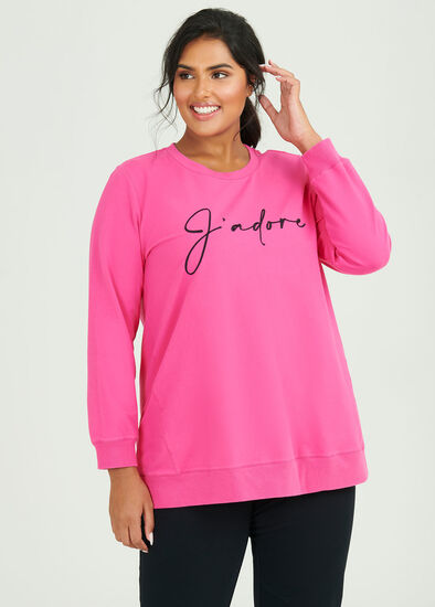Organic J'adore Sweat Top