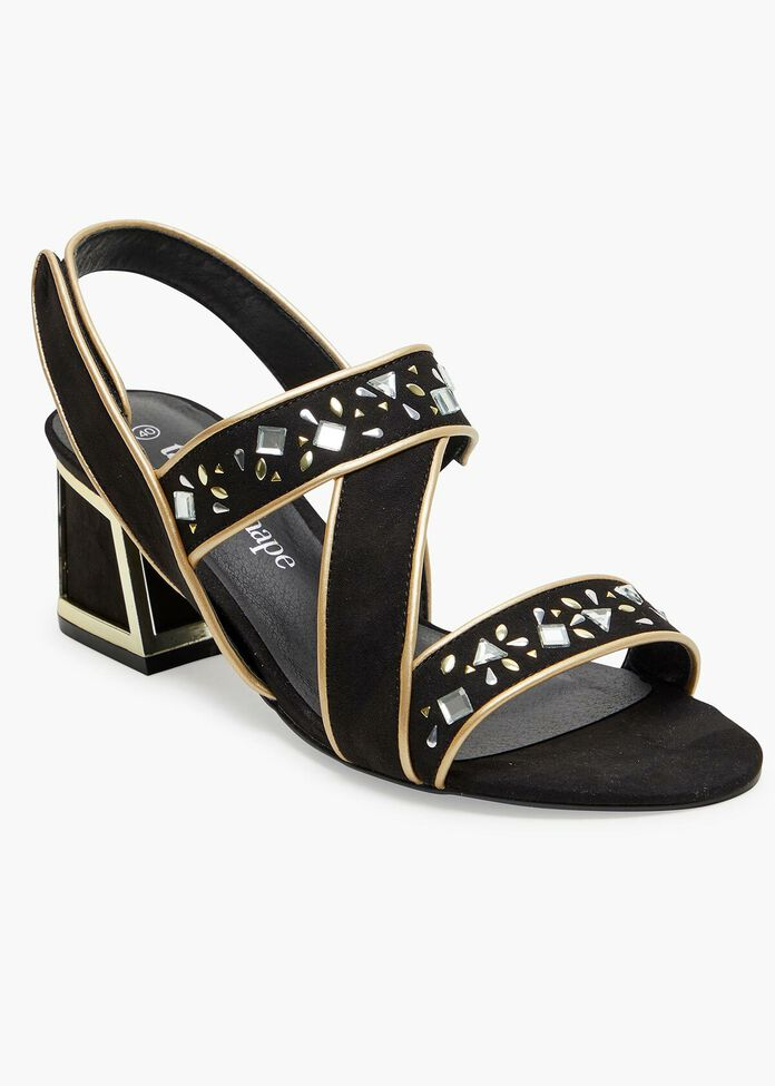 The Luxe Sandal, , hi-res