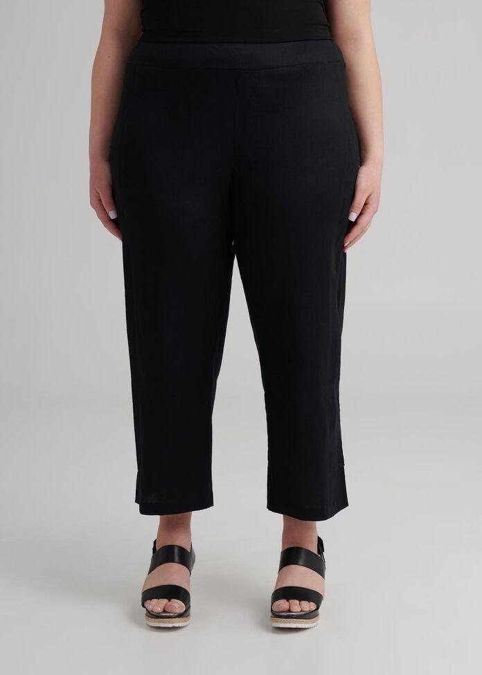 Petite Linen Sonoma Pant, , hi-res