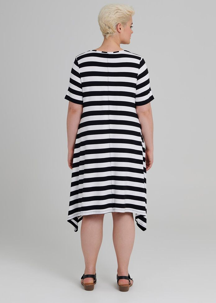 Getaway Stripe Dress, , hi-res