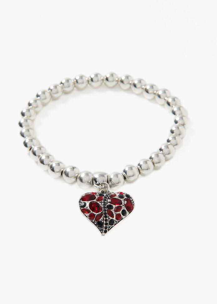 Layla Heart Bracelet, , hi-res
