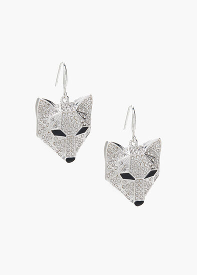 Crystal Fox Earrings