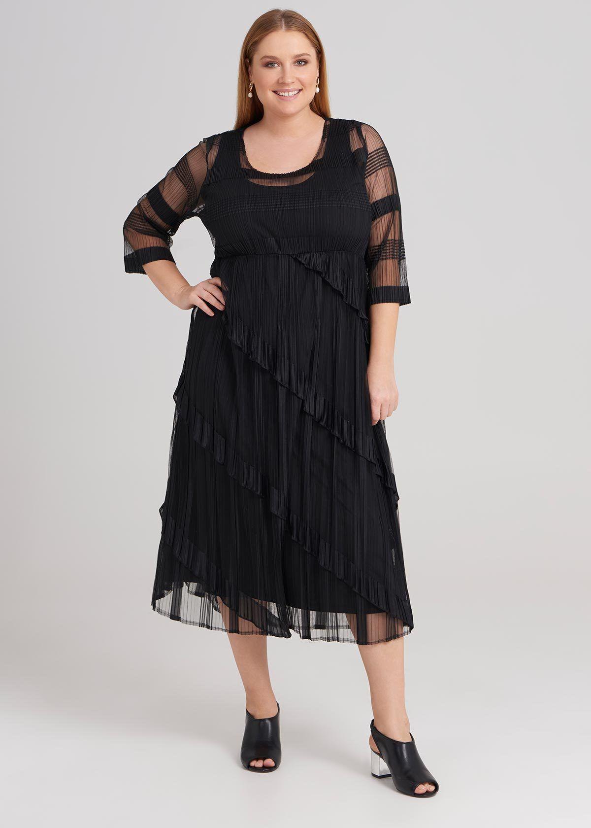 Hazine Pleated Dress