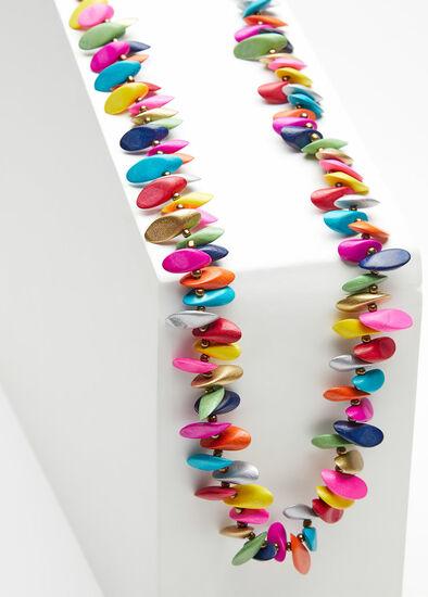 Bright Single Strand Necklace