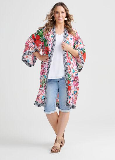 Natural Boho Kimono