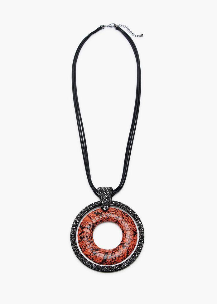 Rustic Serpent Necklace, , hi-res