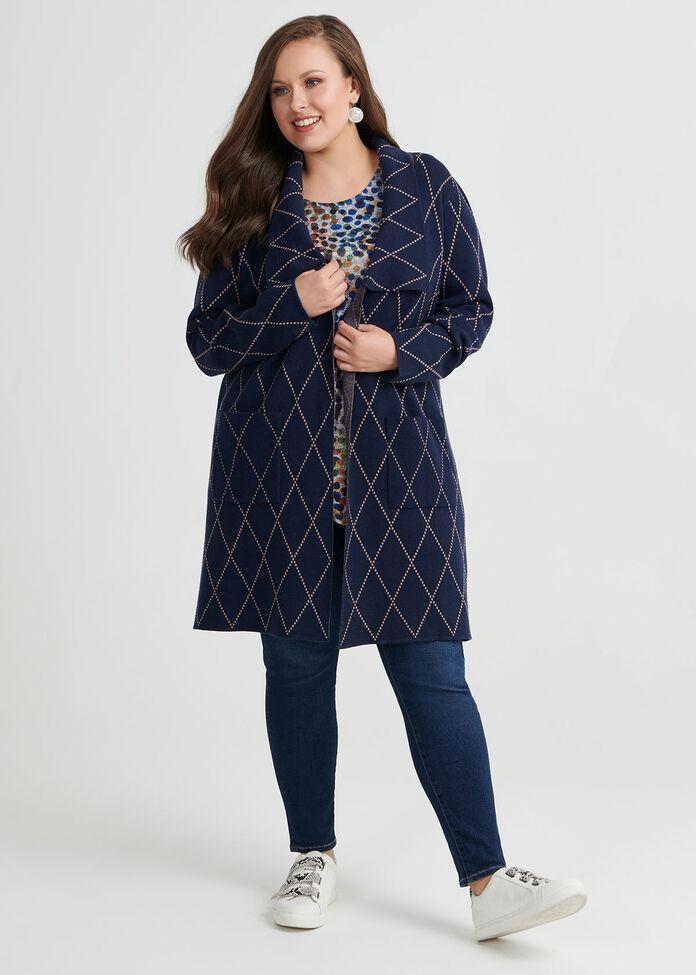 Autumn Dots Knit Top, , hi-res