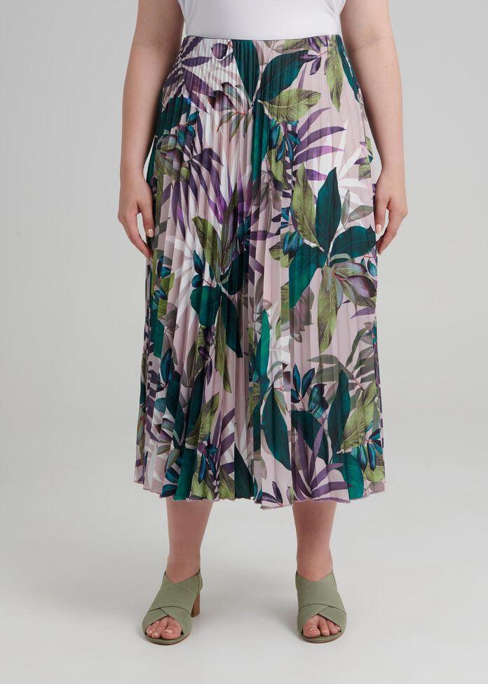 Deja Vu Pleat Skirt, , hi-res