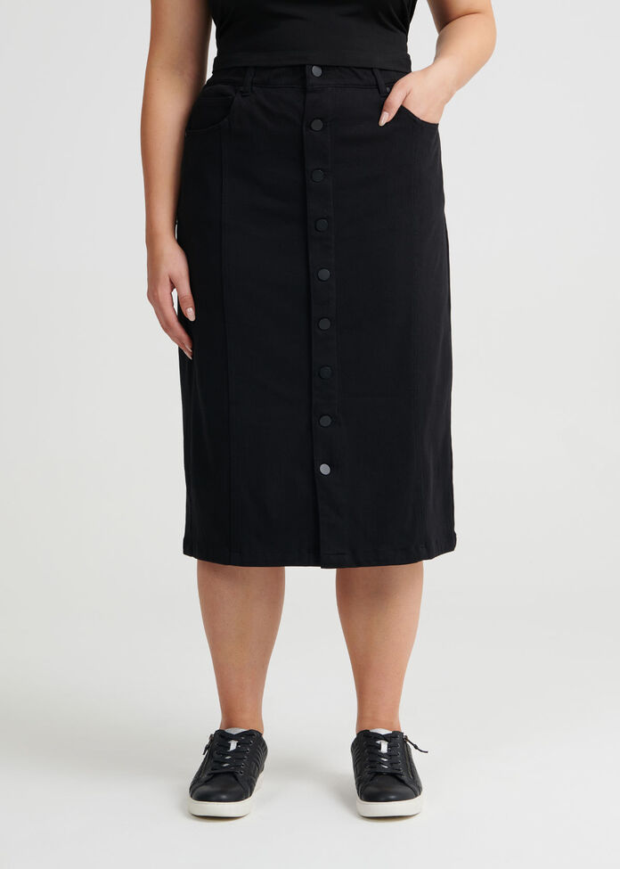 Bestfriend Button Skirt, , hi-res