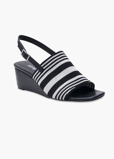 Skye Stripe Wedge