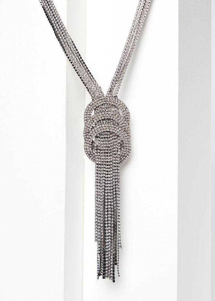Bling Ring Necklace, , hi-res