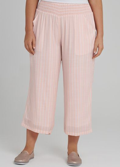 Resort Relaxed Crop Pant