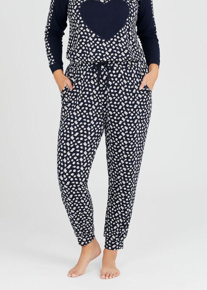 Bamboo Daisy Pyjama Pant, , hi-res