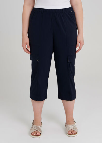 Utility Pull On Crop Pant