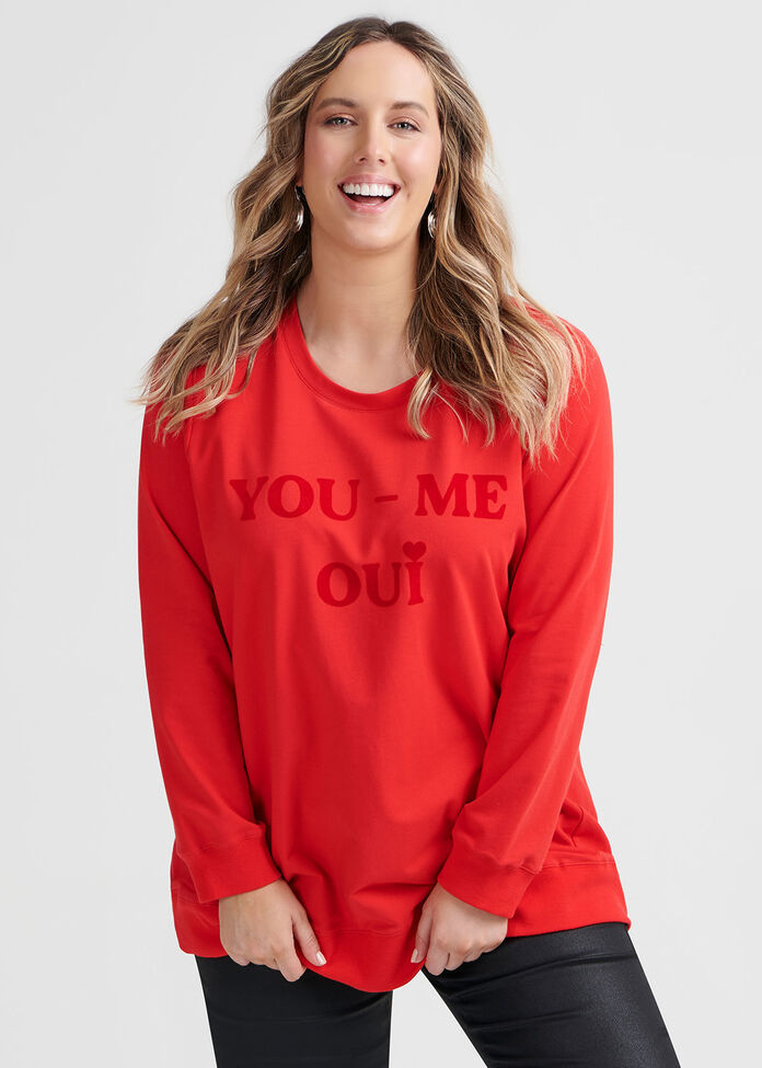 You Me Oui Organic Top, , hi-res