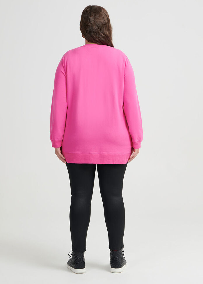 Cest Bon Organic Sweat Top, , hi-res