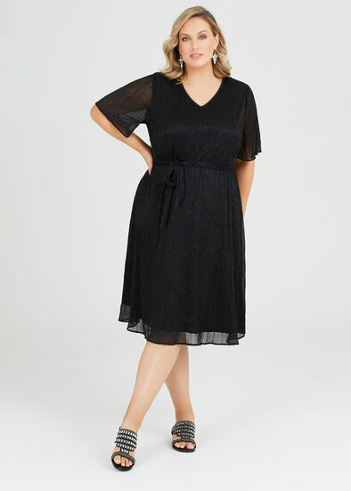 Roulette Shimmer Party Dress