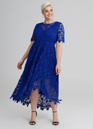 Just You Wait Lace Dress