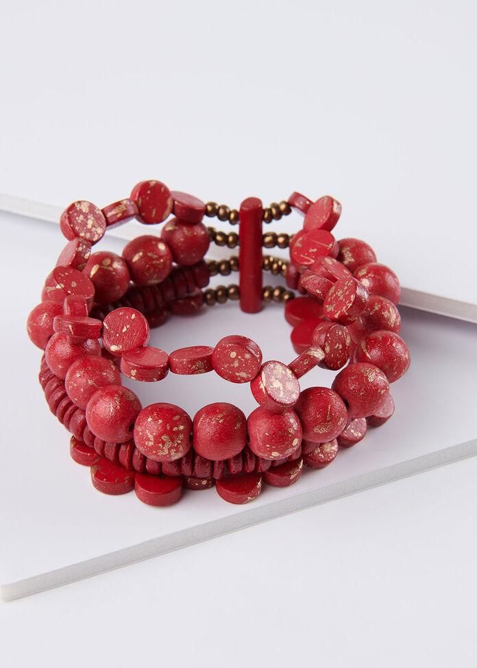 Lady In Red Bracelet, , hi-res