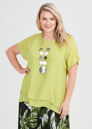 Lea Textured Top